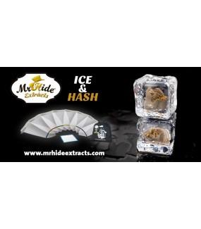 Mallas ICE & HASH 20L - Bolsas pequeñas para extracción de resina | Mr.Hide Extracts