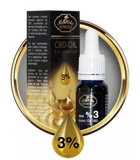 Aceite CBD 3% Mr. Hide...